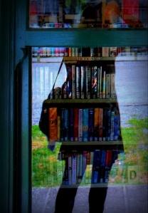 Liana at the Library